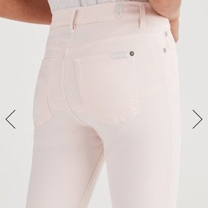 7 For All Mankind Jeans - 7 For All Mankind High Waist Ankle Skinny Jeans